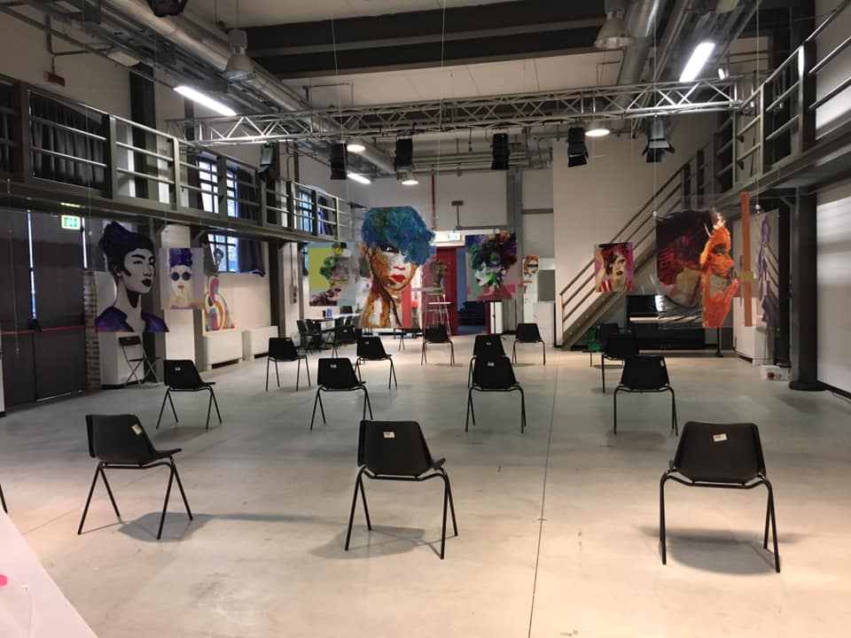 """Think Pink 2018"""" See beyond"""",Fabbrica del Vapore, Milan, Italy."""