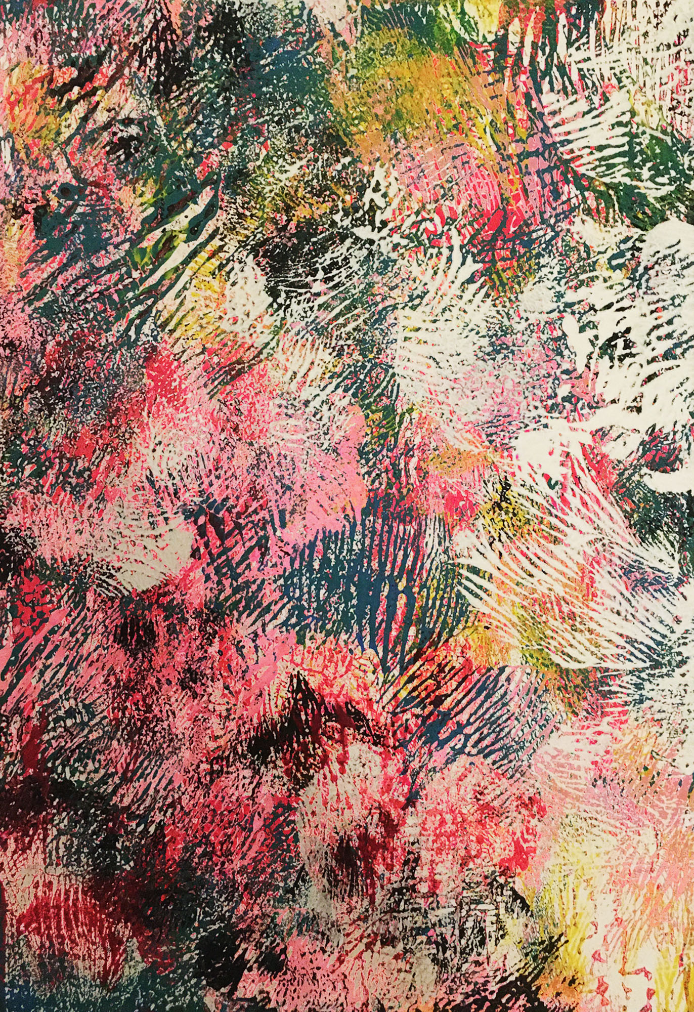 """Abstracts: """"Imprints, IAbstracts: """"Imprints,Spring"""", acrylics on canvas,100x70 cm,2021"""", acrylics on canvas,100x70 cm,2021"""